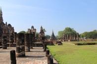 Inside the historical park.