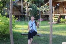A fun swing at Pai Country Huts.