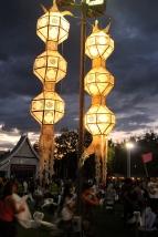 Cool light posts.