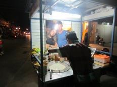 Late night street food--Roti!